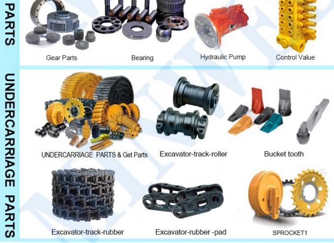 2726955 1733381 320D2 320C 320B Excavator Hydraulic Pump 3